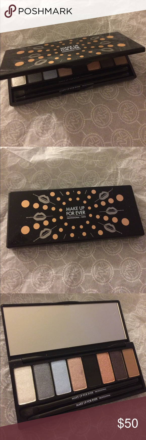 Makeup forever eyeshadow palette Midnight glow Limited