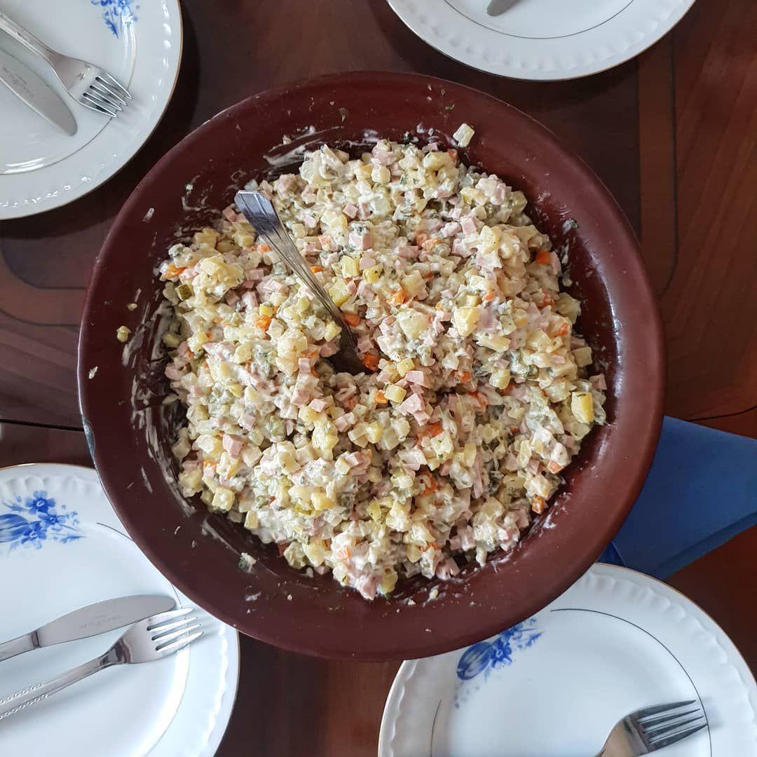 Polnischer Kartoffelsalat | Lebensmittel essen, Polnischer ...