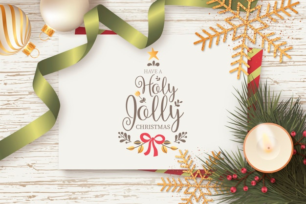 Empty Snowballs With Snowflakes Realistic Vector Free Vector Vector Free Download Christmas Card Template Christmas Photo Card Template Christmas Card Design