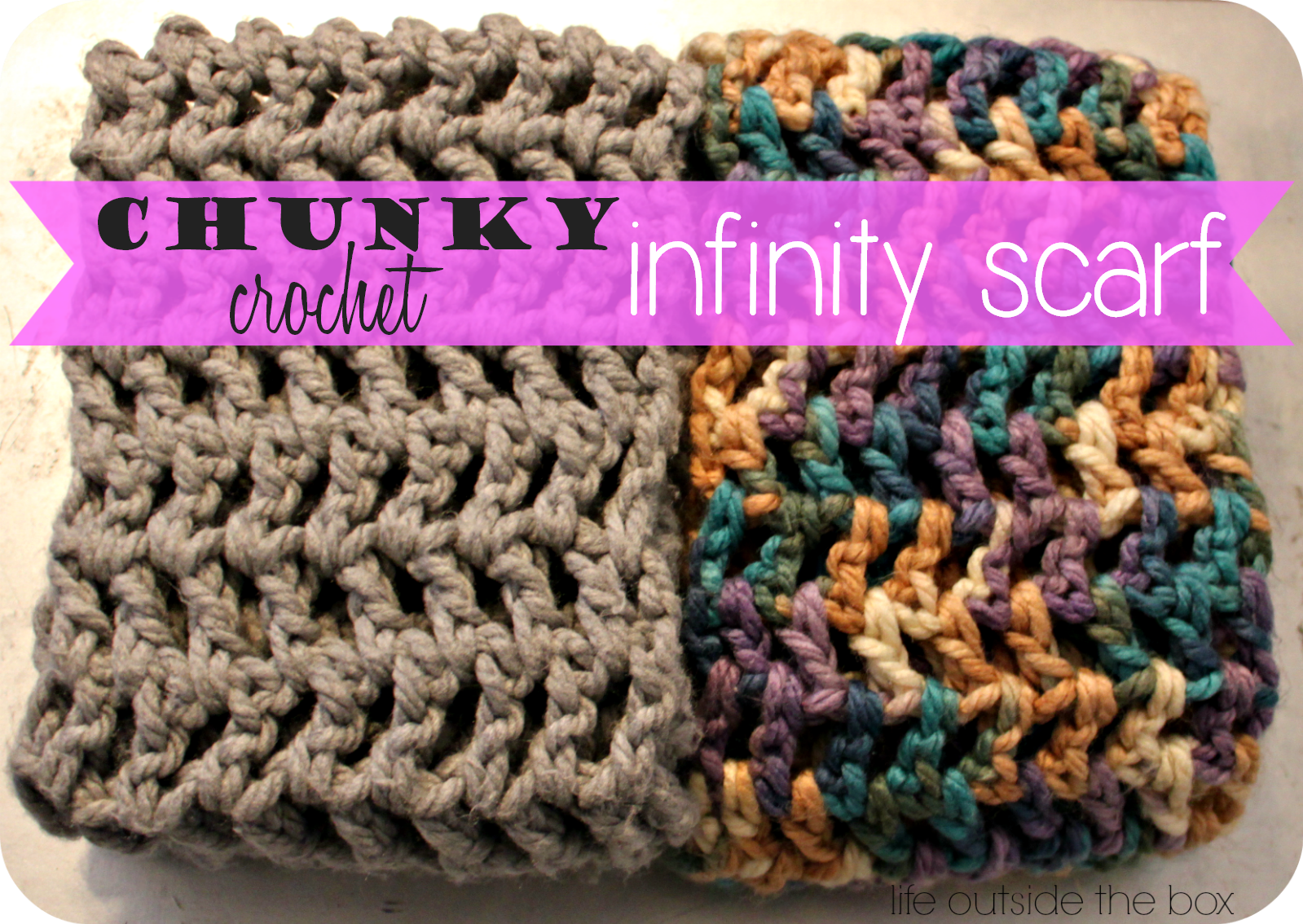 Chunky infinity scarf crochet pinterest chunky infinity chunky infinity scarf crochet pinterest chunky infinity scarves infinity and scarves bankloansurffo Image collections