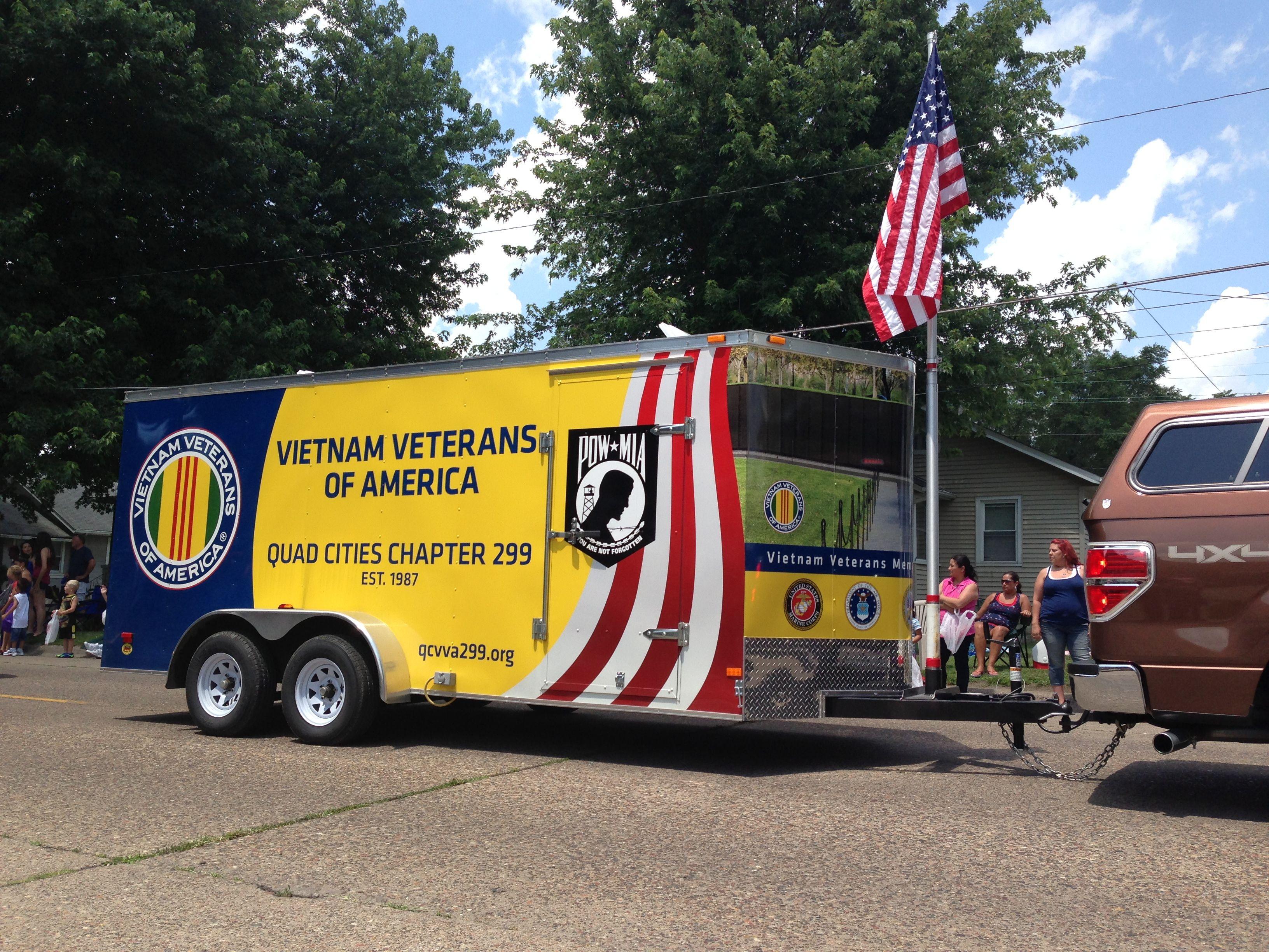 Vietnam Veterans Trailer Wrap Vietnam veterans, Quad