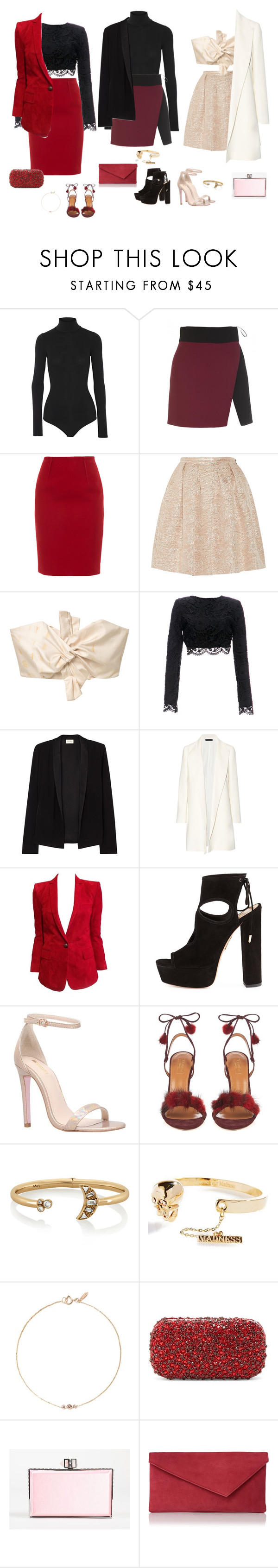"""""""All blazered up"""" by audrey-balt on Polyvore featuring Theory, FAUSTO PUGLISI, Paule Ka, Rochas, MANGO, Stone_Cold_Fox, American Vintage, The Row, Balmain and Aquazzura"""
