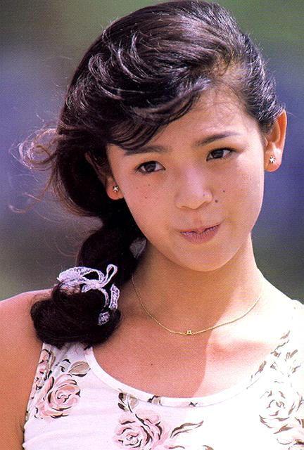 ブロンドヘアーの森永奈緒美さん