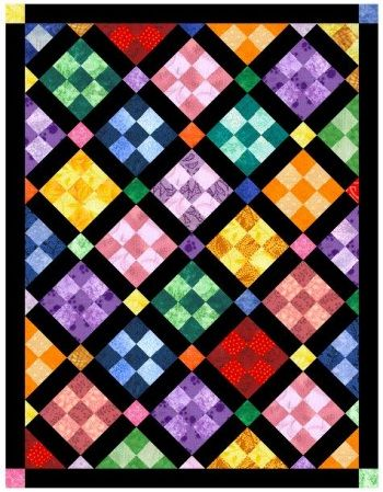 Designing Your Own Nine Patch Quilt Pattern | Patch quilt, Simple ...
