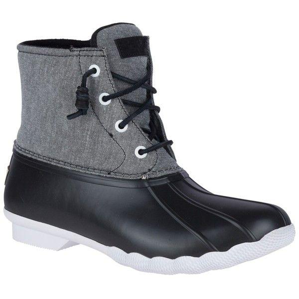 Sperry Saltwater Waterproof Rain Boot 60 Liked On -1125