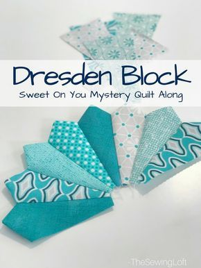 Dresden Block Sewing Instructions - The Sewing Loft