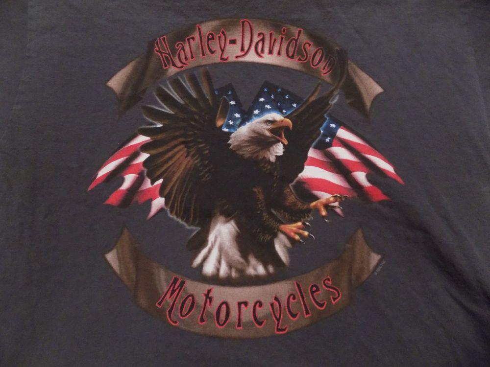 Harley Davidson Motorcycles North Texas Dallas T Shirt Size Medium