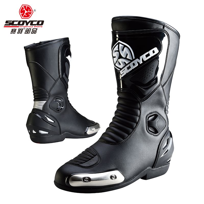 57d8d33e1b 2016 Scoyco New MBT004 motorcycle Racing shoes Motocross Motorbike ...