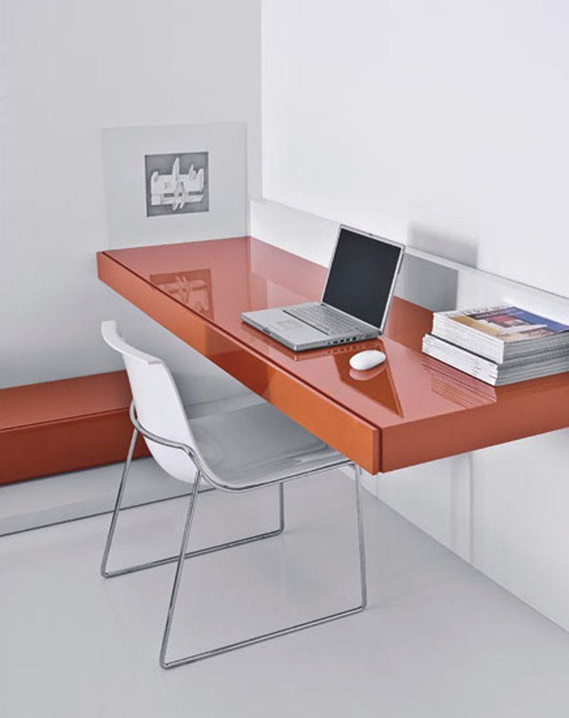 Wall Hanging Desk conceito de mesa suspensa em alta! mesa com gavetas com pintura