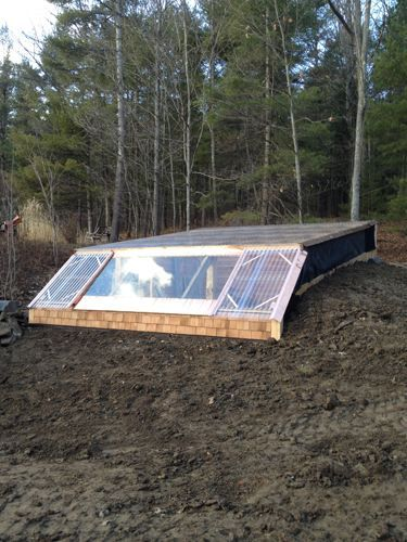 how to build an earth sheltered greenhouse - Earth Sheltered Greenhouse Plans
