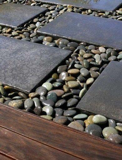 Top 50 Best River Rock Landscaping Ideas - Hardscape Designs