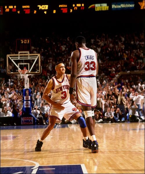 c4f22a420 Patrick Ewing n John Starks had mad heart.......1994 Playoffs