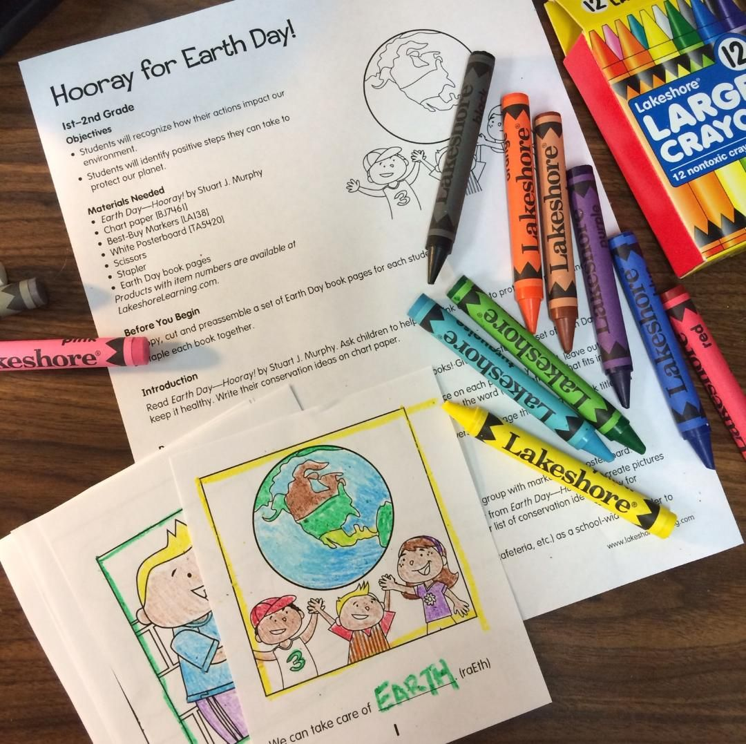 Here S A Free Hooray For Earth Day Lesson Plan That S Perfect For 1st Amp 2nd Graders