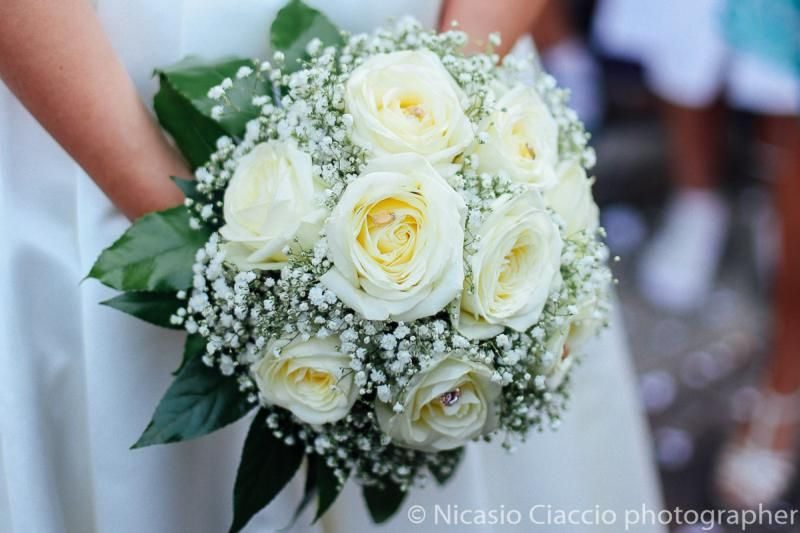 bouquet sposa rose