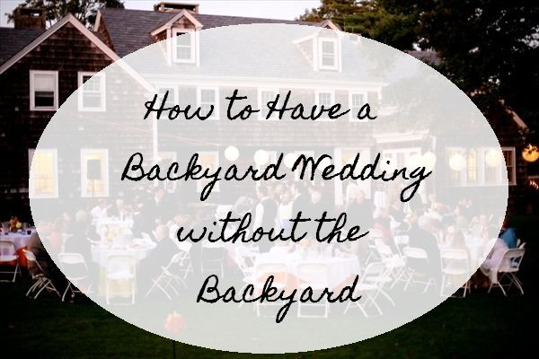 #backyard #wedding #smallwedding #rustic wedding
