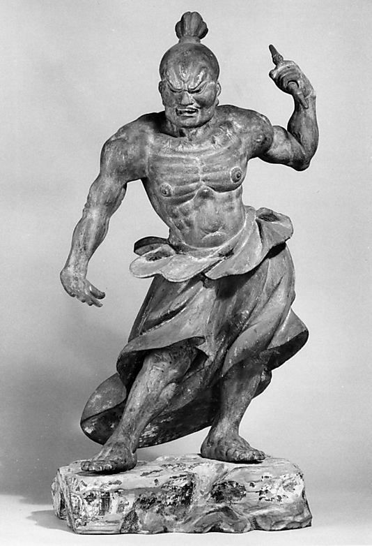 IMAGES NIO GUARDIANS | The Metropolitan Museum of Art - Temple Guardian (Nio, one of a pair)