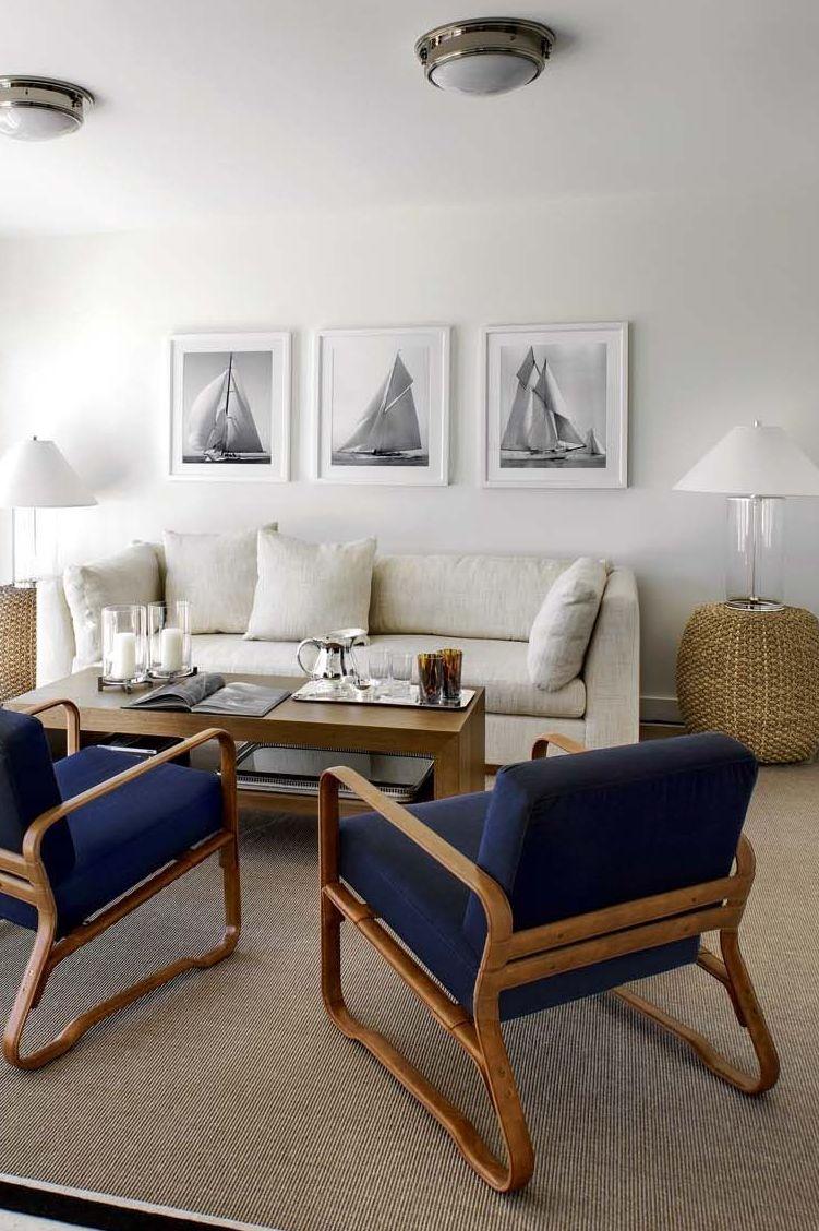 Déco bord de mer chic : chambre, maison, salon  Muebles, Casas y Deco