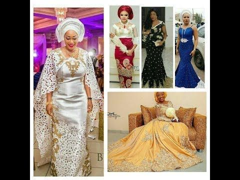 cdf56e3ee3f Gorgeous And Stunningly Glamorous  Ankara And  Lace Asoebi Styles For   Owambe 2017 -