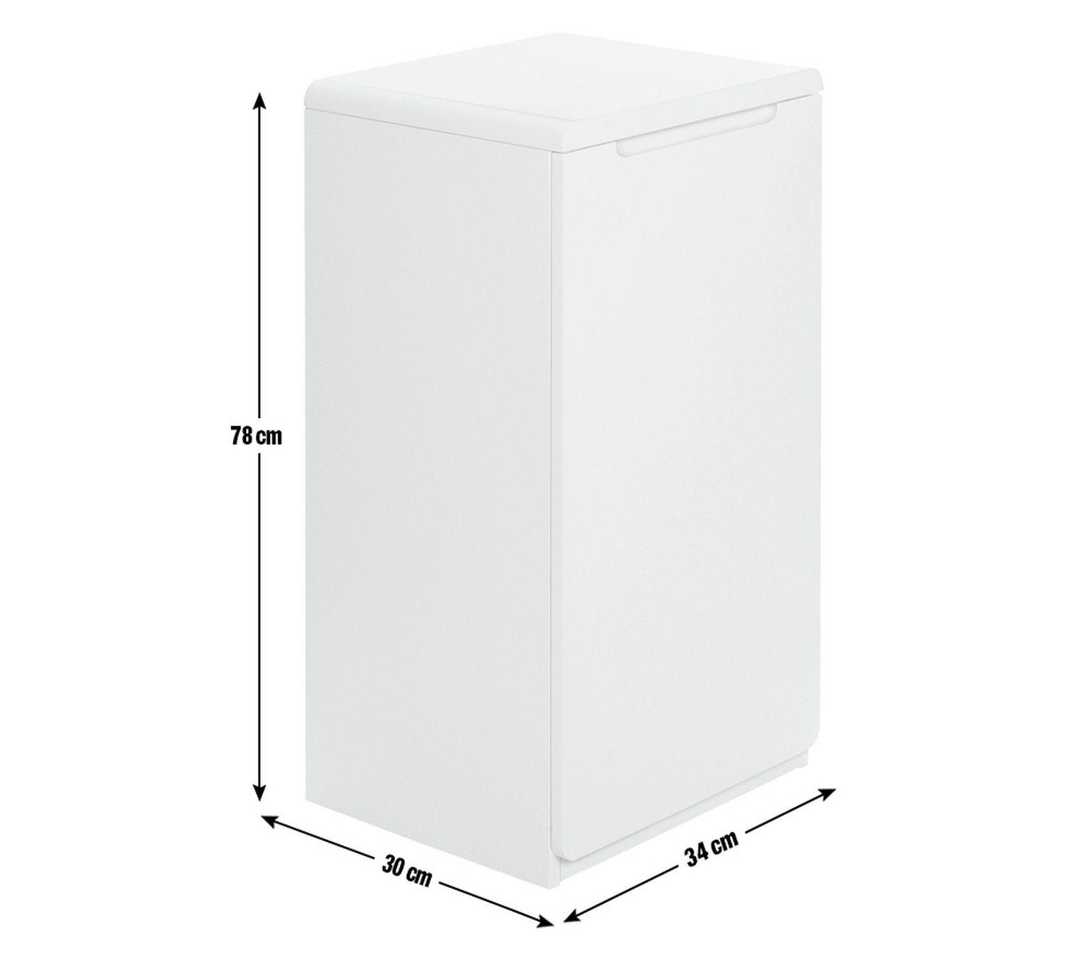 Buy Hygena Curve Laundry Cabinet At Argos Co Uk Visit Argos Co Uk To Shop Online For Linen Baskets And Laundry Bins Laundry Cabinets Linen Baskets Argos Home