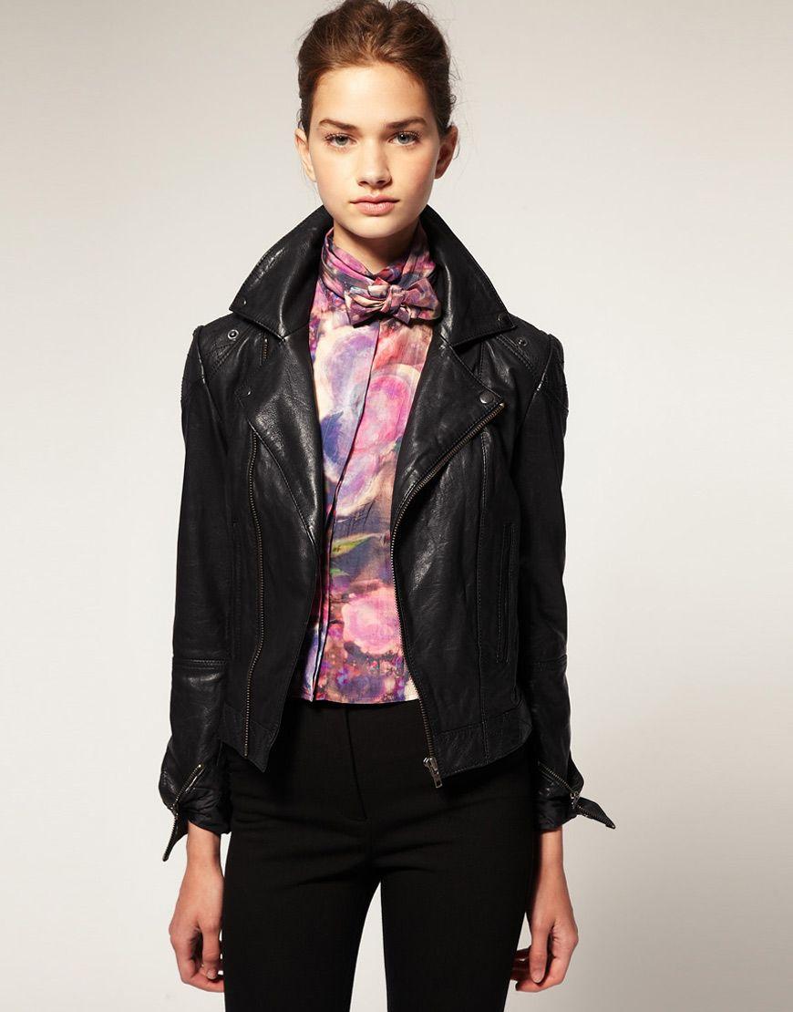 A good biker jacket is as treasured as a lifelong friend my style
