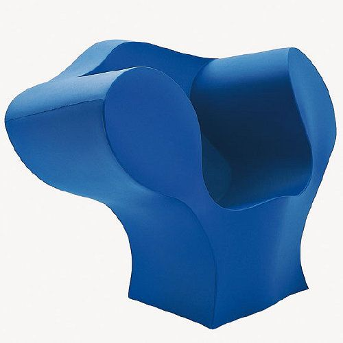 Ron Arad, Big E Chair (2003) Recyclable Rotomoulded Polyethylene, Cast in One Piece  Produced by Moroso, Cavalicco-Udine, Italy © Ron Arad Associates