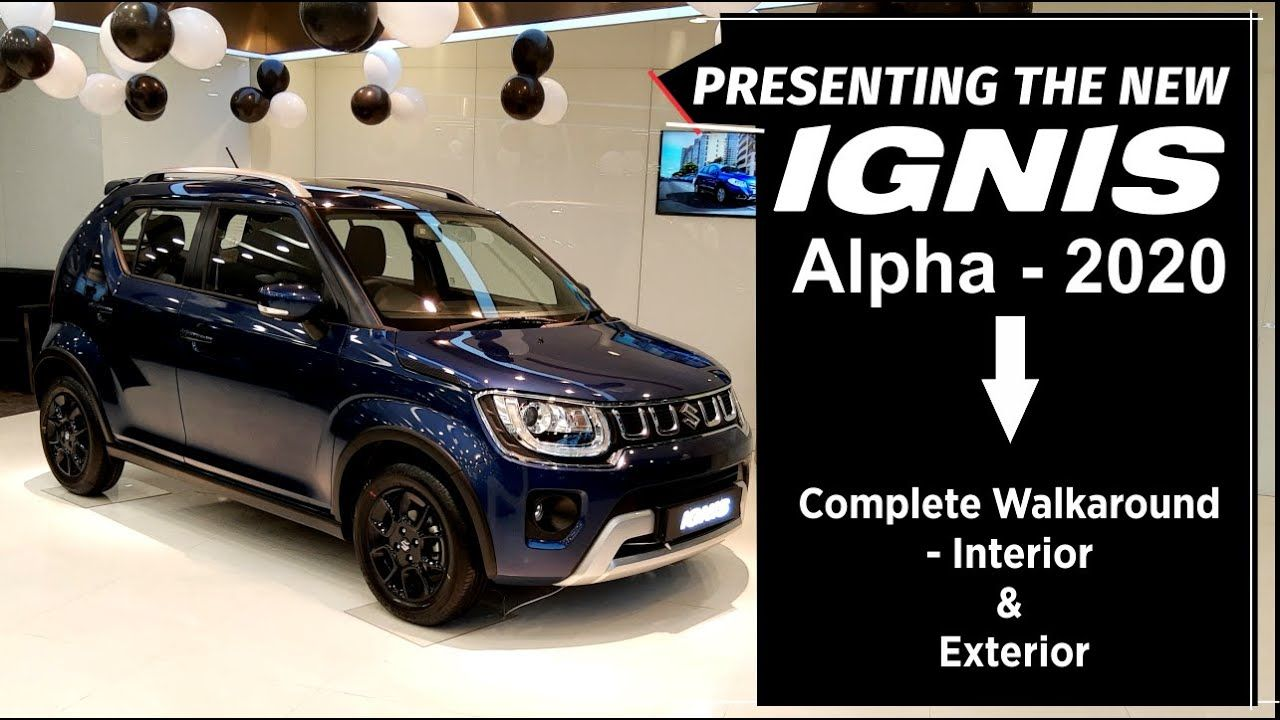 New Ignis Alpha 2020 Facelift Walkaround Shivam Autozone In 2020 Interior And Exterior New Chrome Urban Jungle