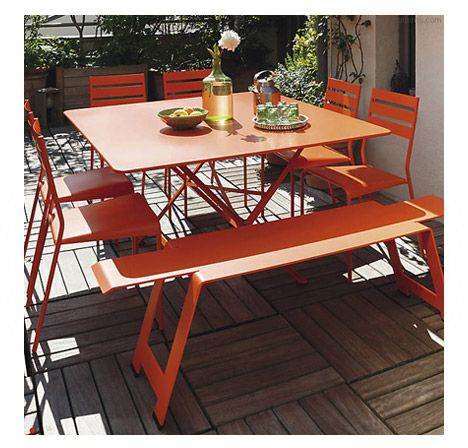 Cargo Table By Fermob At Lumens Com Fermob Outdoor Dining Chairs Outdoor Furniture Sets