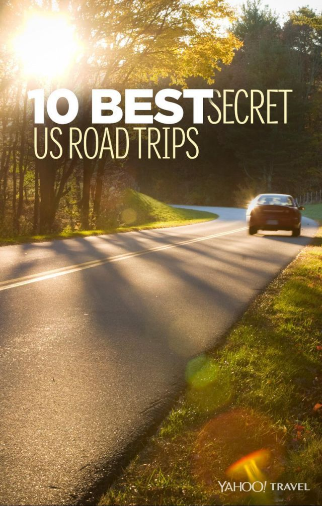Photo by iStock. Design by Erik Mace for Yahoo Travel. The U.S. has many iconic road trips. You could even say that the U.S. invented the road trip as a form of vacation.