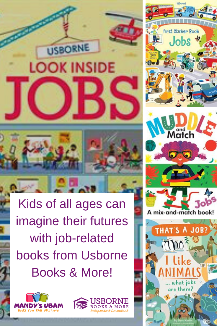 Do Your Kids Imagine Their Futures Books About Jobs Usborne Books Book Of Job Elementary School Books