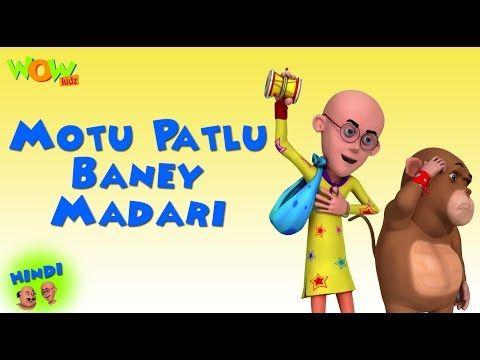 Madari Motu Patlu Cartoon In Hindi Hd For Kids Videos Cartoon