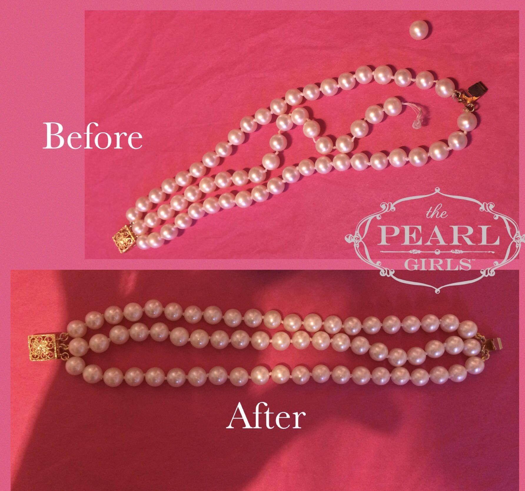 and Repair Pearl Jewelry Repair \u2022 Jewelry Restringing Knotting