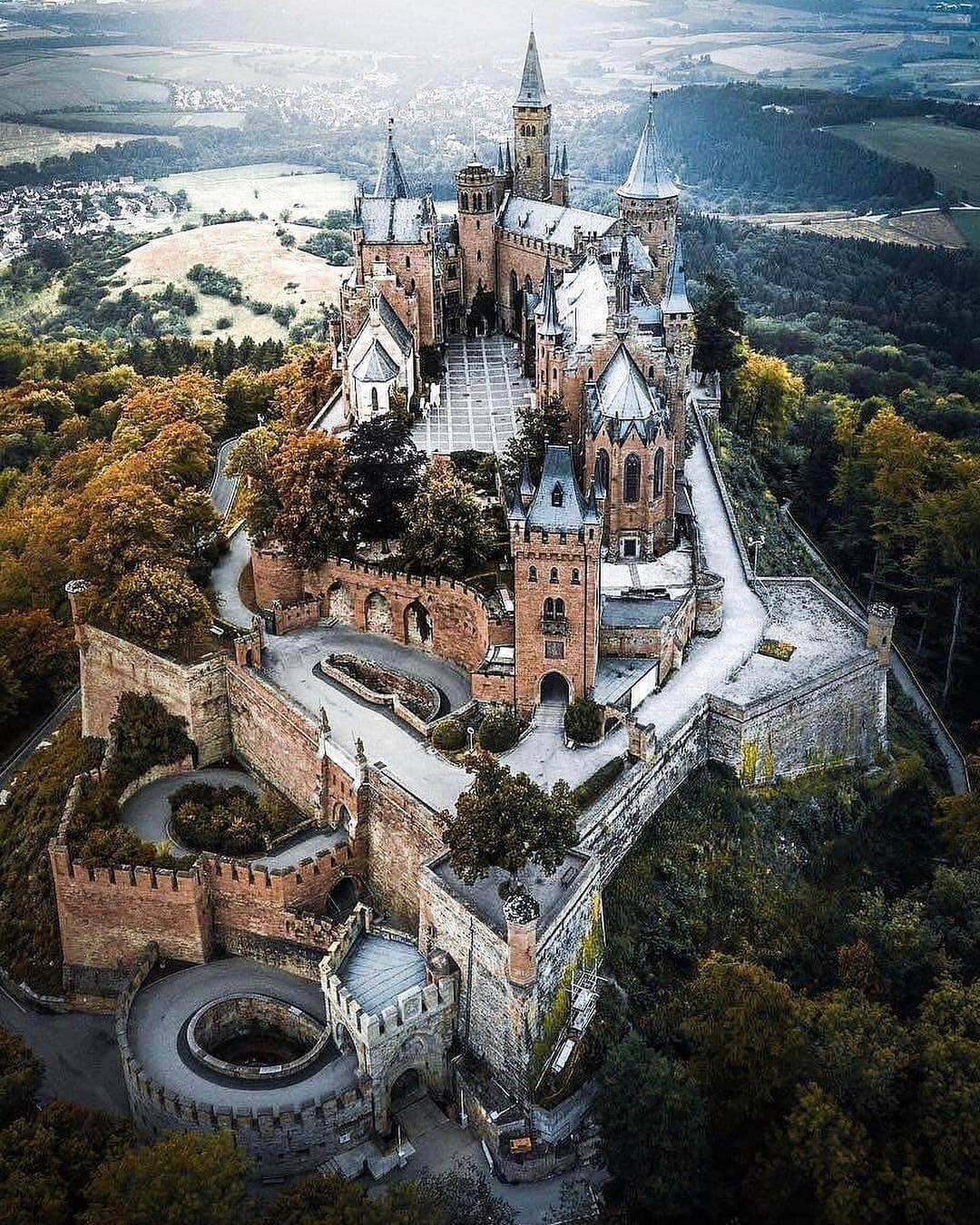 Castles In The World On Instagram Hohenzollern Castle Germany Repost Andre Diaz Schloss B Germany Castles Beautiful Castles Hohenzollern Castle