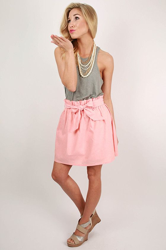 This skirt will add the right amount of sass to any outfit!