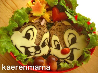 Chip and Dale - bento
