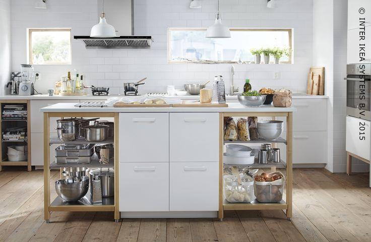Idea for laundry room island to incorporate laundry basket storage - ikea küche värde katalog