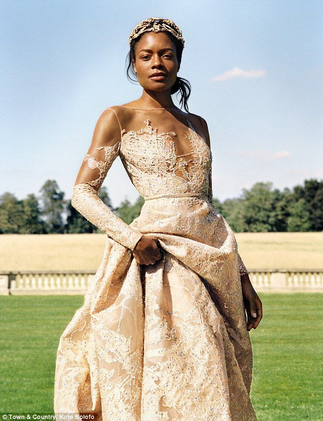 James Bond star Naomie Harris stars in stunning Town & Country shoot ...