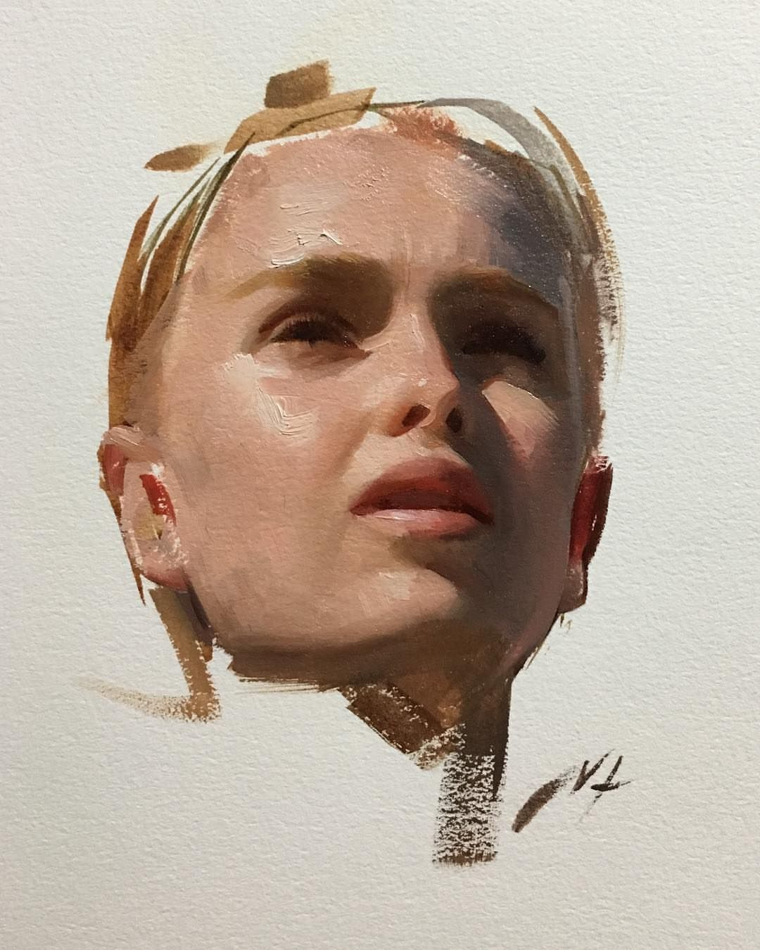Nick Alm Art Nickalmart Portrait Sketches Oil Painting