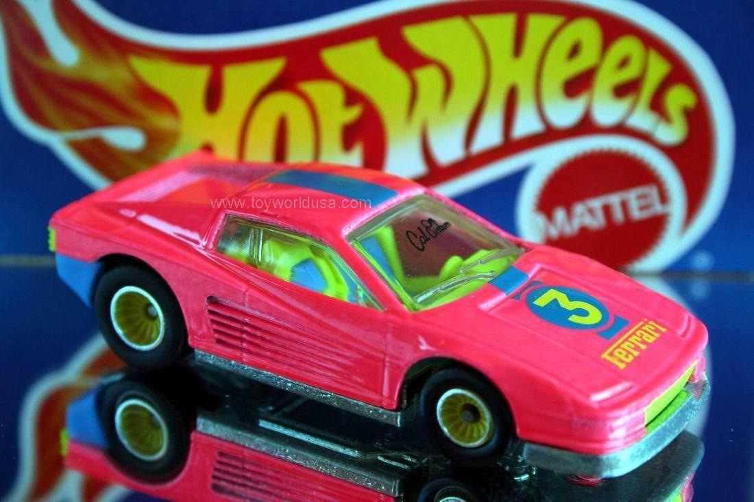 1991 Hot Wheels Ferrari Testarossa California Custom #1302 ...