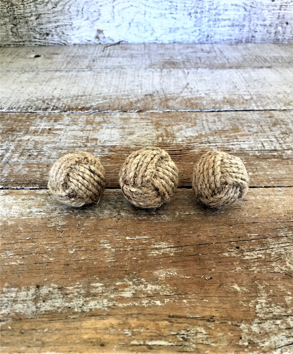 Drawer S 3 Rope Pulls Nautical Knot Hardware Dresser Cabinet Door Ocean Themed By Thedustyoldshack