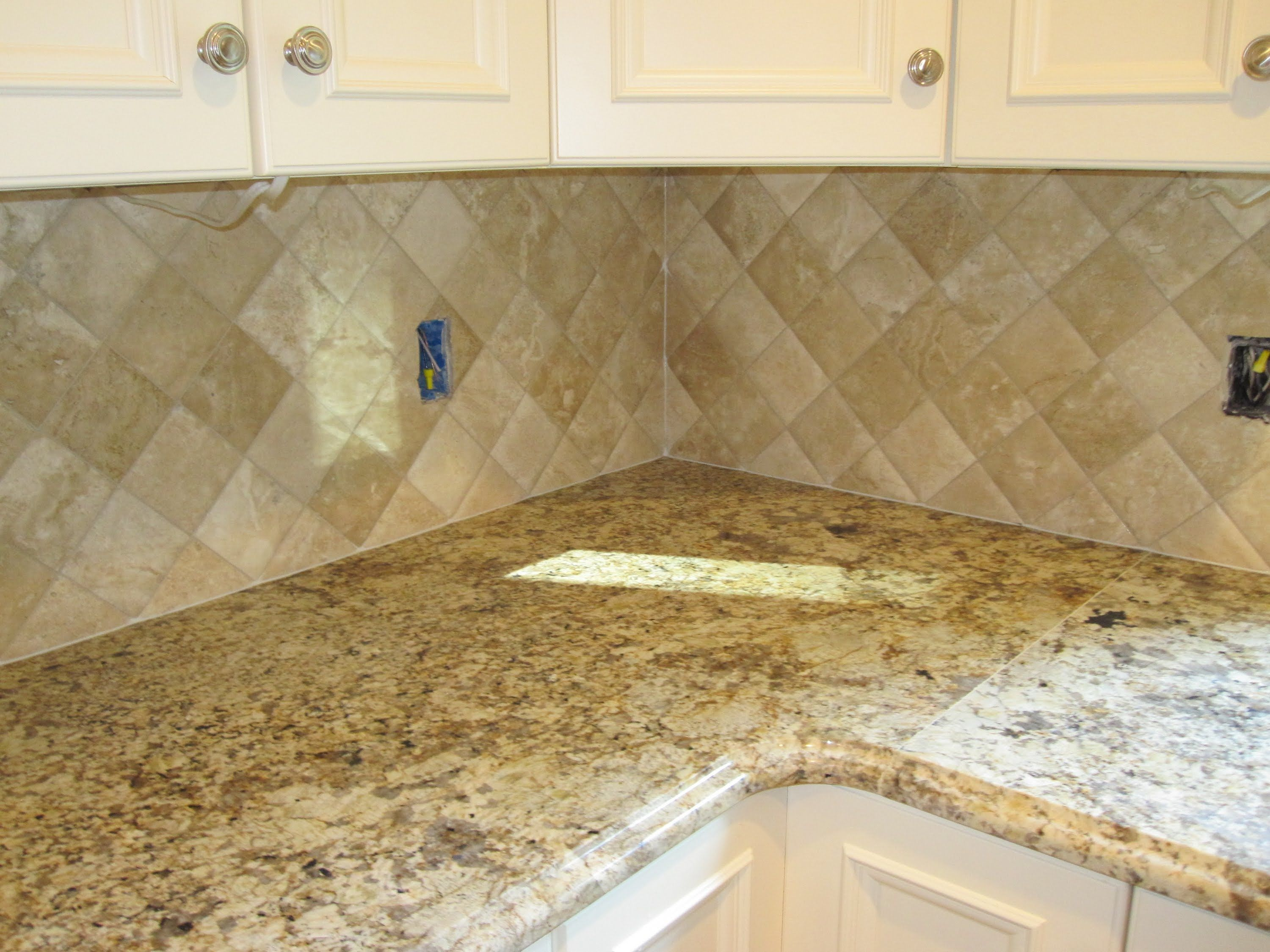 Kitchen Backsplash Travertine Tile Backsplash Travertine