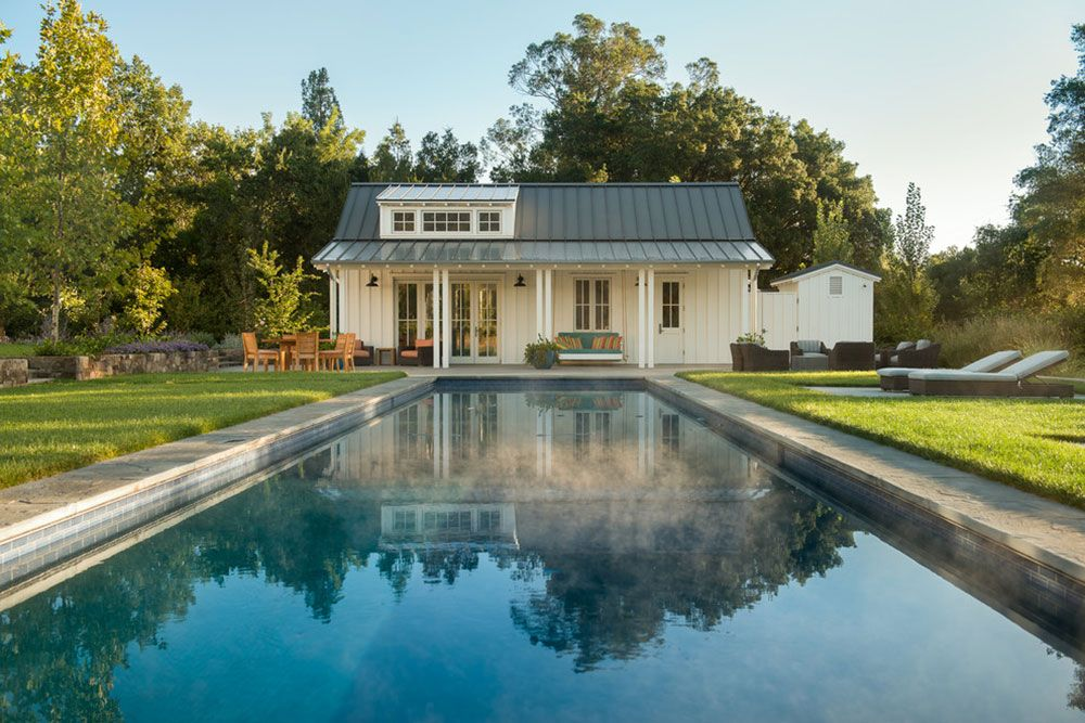 How Much Value Does A Pool Add To A Home Low Maintenance Backyard Pool Houses Backyard