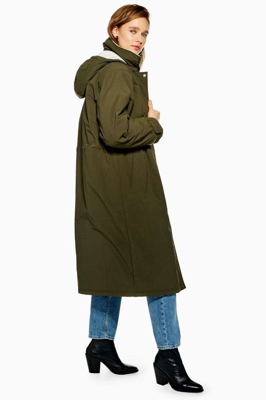 bb645891616e Longline Hooded Parka - Jackets & Coats - Clothing - Topshop USA