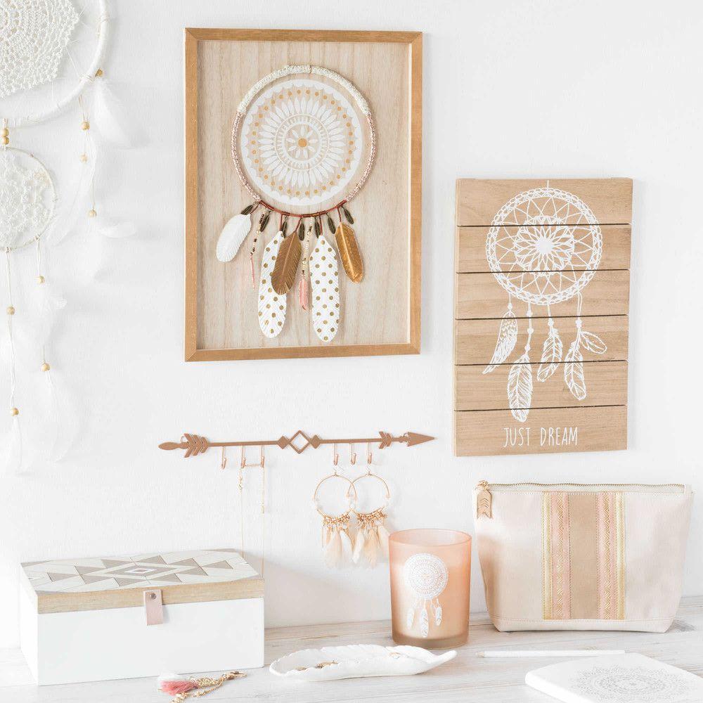 bougie en verre imprim attrape r ves mandala maisons du girl bedroom nude pink copper. Black Bedroom Furniture Sets. Home Design Ideas
