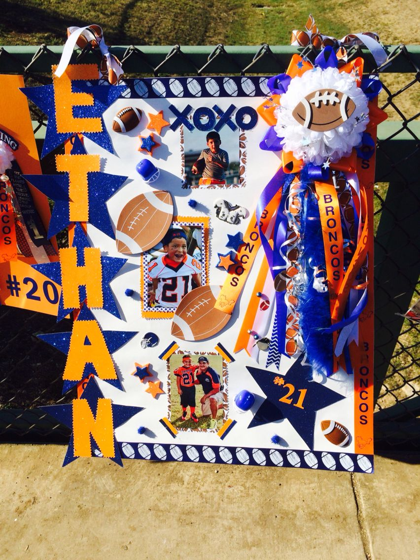 Homecoming poster! | Football party ideas | Football ...