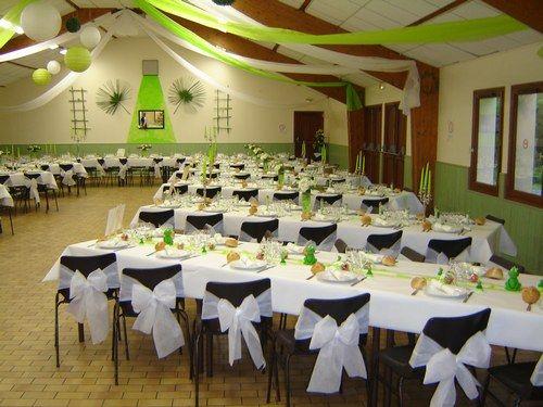 Vends déco mariage vert anis et blanc , Photo 3