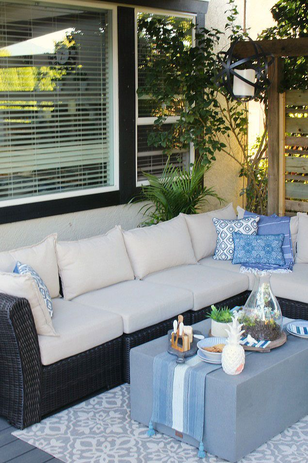 How To Clean Outdoor Cushions Fabulously Sparkly