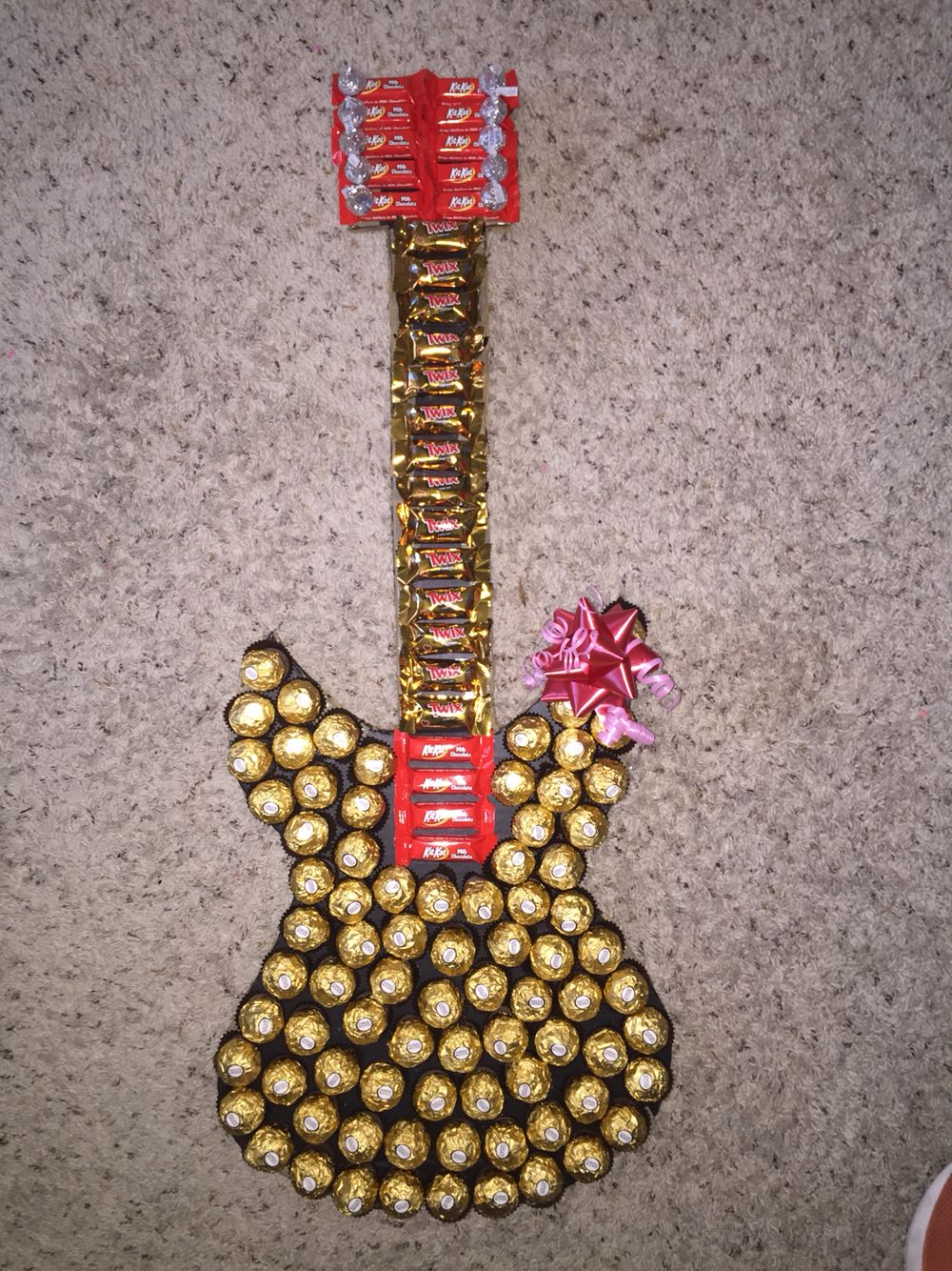 Chocolate Guitar Made For My Boyfriend For Valentines Day