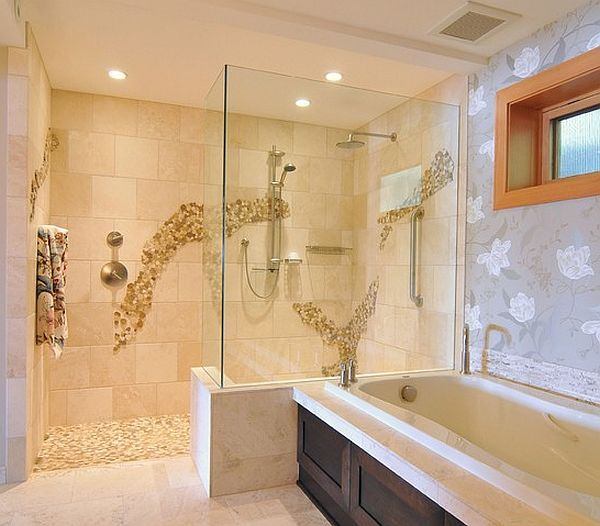 large walk in showers without doors. Bathroom Glass Doors Corner Block Ideas Walk In Pictures Tile Showers  Surround Roll Fiberglass Frameless Door Hardware Tub Wall Doorless Shower shower design Google Search in Pinterest