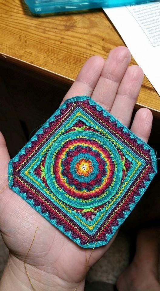 Pin de Amanda Queen en Crochet/knit/sew projects | Pinterest | Mandalas