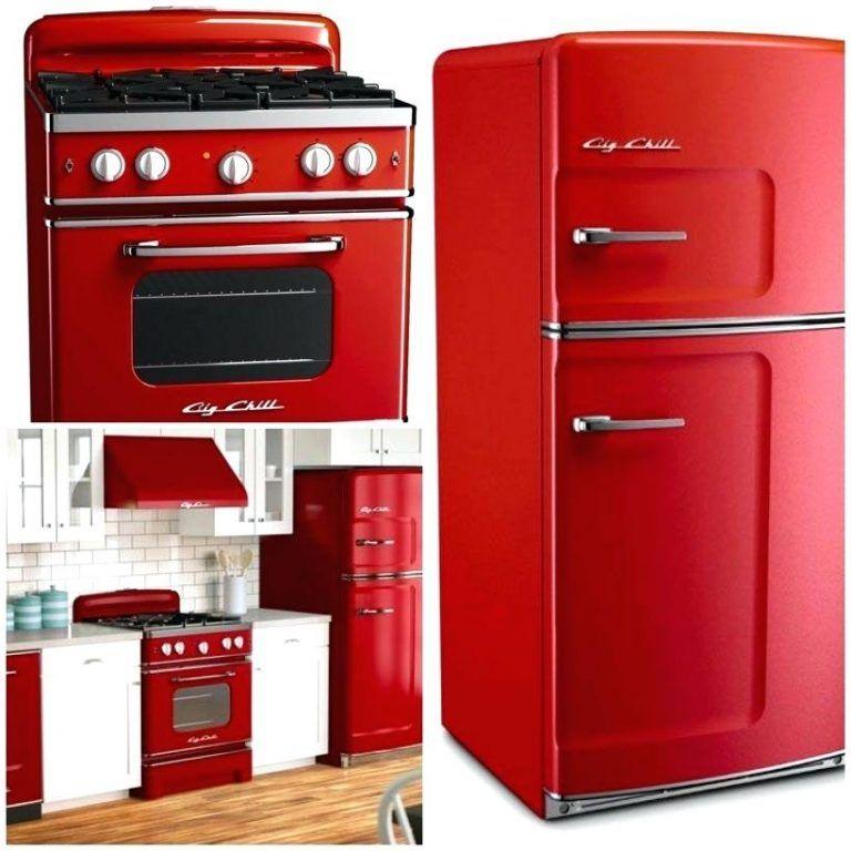 Kidkraft Küche Rot Retro Küche Rot Kühlschrank Rot Retro Innerhalb ...